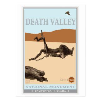 Parque nacional de Death Valley 4 Tarjeta Postal