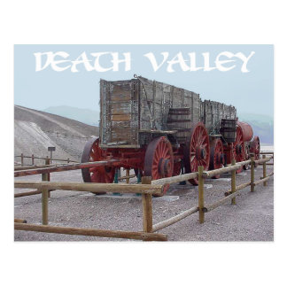 Parque nacional de Death Valley, California - los Postal