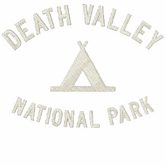 Parque nacional de Death Valley Camiseta Polo Bordada