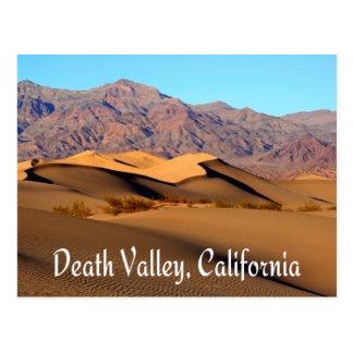 Parque nacional de Death Valley, postal de