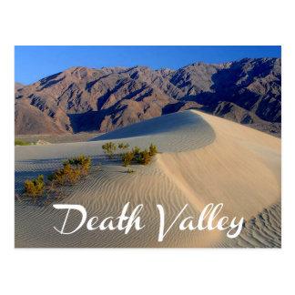 Parque nacional de Death Valley, postal de Califor