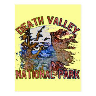 Parque nacional de Death Valley Postales