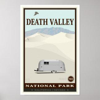 Parque nacional de Death Valley Póster
