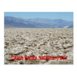 Parque nacional de Death Valley Tarjeta Postal