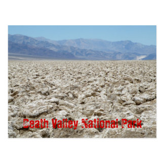 Parque nacional de Death Valley Postal