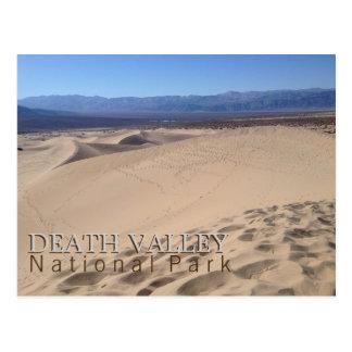 Parque nacional de Death Valley Tarjetas Postales