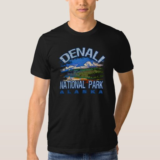 Parque nacional de Denali, Alaska Polera