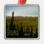 Parque nacional de Denali en Alaska Adorno De Navidad