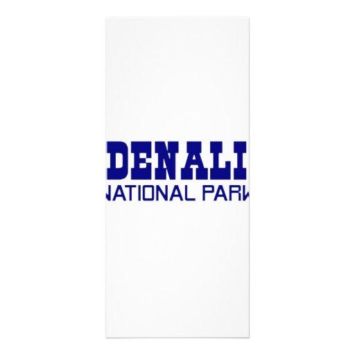 Parque nacional de Denali Lona Personalizada