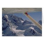 Parque nacional de Flightseeing Denali Felicitación