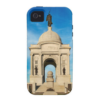 Parque nacional de Gettysburg - monumento de Case-Mate iPhone 4 Carcasa