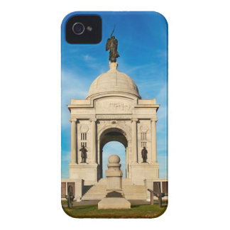 Parque nacional de Gettysburg - monumento de iPhone 4 Coberturas