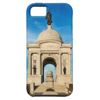 Parque nacional de Gettysburg - monumento de iPhone 5 Funda