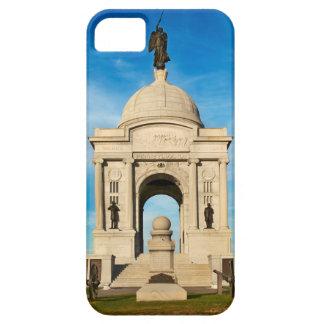 Parque nacional de Gettysburg - monumento de iPhone 5 Fundas