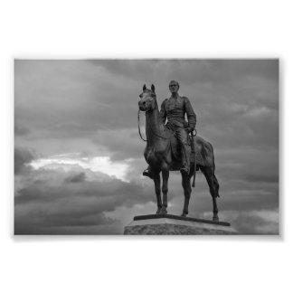 Parque nacional de Gettysburg - monumento de Meade Cojinete