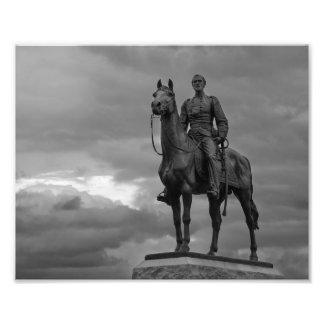 Parque nacional de Gettysburg - monumento de Meade Fotografías