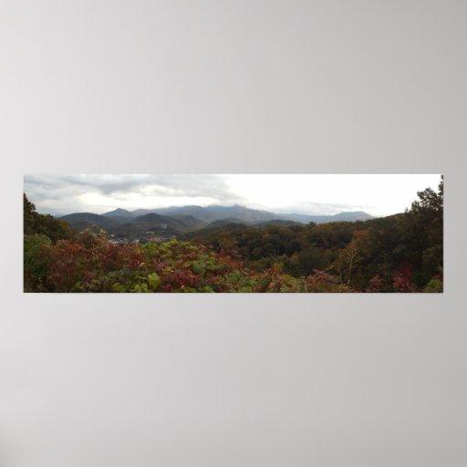 Parque nacional de Great Smoky Mountains en Gatlin Impresiones