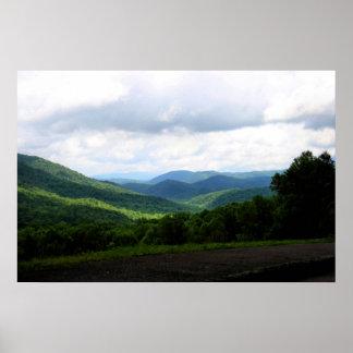 Parque nacional de Great Smoky Mountains Póster