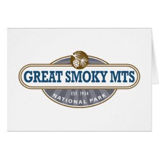 Parque nacional de Great Smoky Mountains Felicitaciones