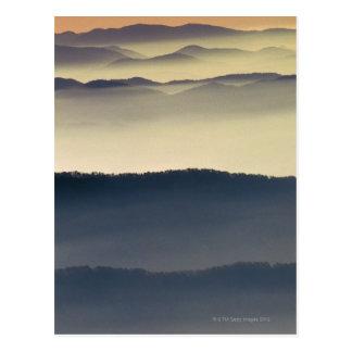 Parque nacional de Great Smoky Mountains Tarjeta Postal