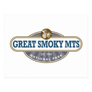 Parque nacional de Great Smoky Mountains Tarjetas Postales