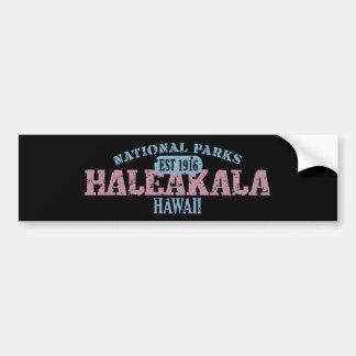 Parque nacional de Haleakala Pegatina Para Auto