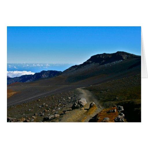 Parque nacional de Haleakala Felicitacion
