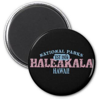 Parque nacional de Haleakala Imán Redondo 5 Cm