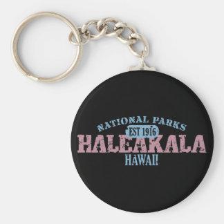 Parque nacional de Haleakala Llavero Redondo Tipo Pin