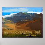 Parque nacional de Haleakala, Maui Hawaii Poster
