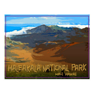 Parque nacional de Haleakala, Maui Hawaii Tarjetas Postales
