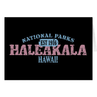Parque nacional de Haleakala Tarjeta De Felicitación