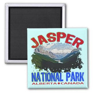 Parque nacional de jaspe, Alberta Canadá Imanes Para Frigoríficos