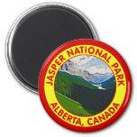 Parque nacional de jaspe, Alberta, Canadá Iman De Nevera