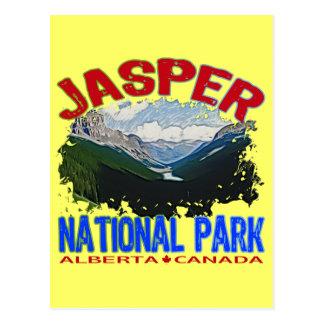 Parque nacional de jaspe, Alberta Canadá Postal