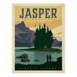 Parque nacional de jaspe, Alberta Canadá Tarjeta Postal