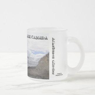 Parque nacional de jaspe - glaciar de Athabasca Taza De Café Esmerilada