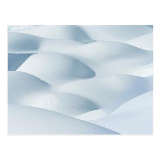 Parque nacional de jaspe, montones de la nieve tarjetas postales
