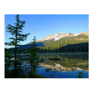 Parque nacional de jaspe, postal de Canadá