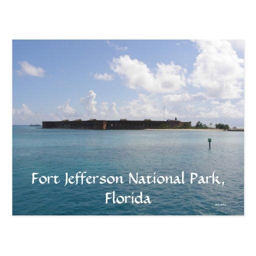 Parque nacional de Jefferson del fuerte Postales