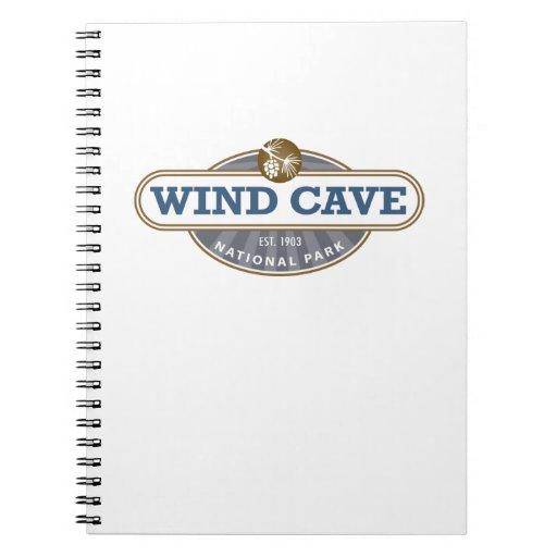 Parque nacional de la cueva del viento libretas
