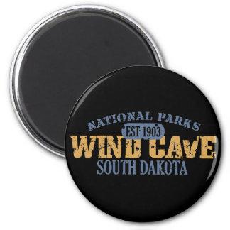 Parque nacional de la cueva del viento iman para frigorífico