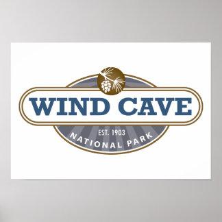 Parque nacional de la cueva del viento poster