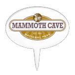 Parque nacional de la cueva gigantesca decoración para tarta