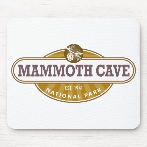 Parque nacional de la cueva gigantesca tapete de raton