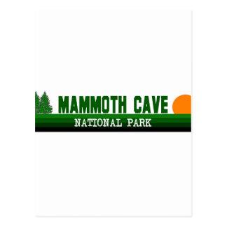 Parque nacional de la cueva gigantesca postales