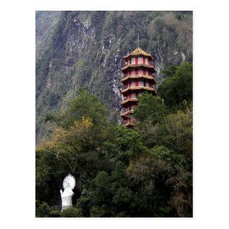 Parque nacional de la garganta de Taroko, Taiwán Postales