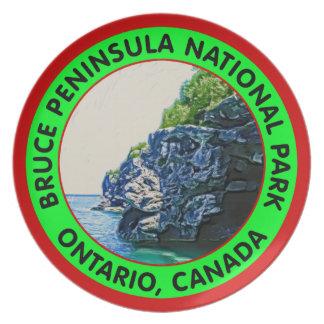 Parque nacional de la península de Bruce Plato