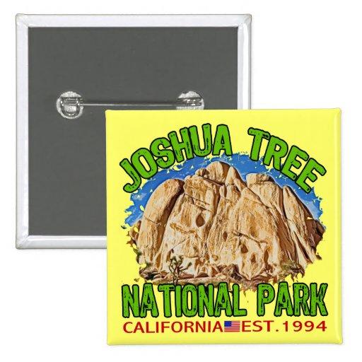 Parque nacional de la yuca, California Pin