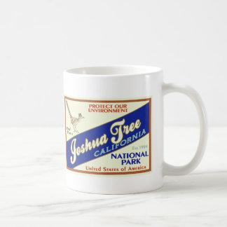 Parque nacional de la yuca (correcaminos) taza de café